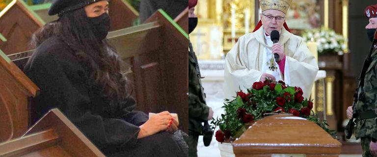 Poruszające słowa księdza do żony Krzysztofa Krawczyka podczas pogrzebu