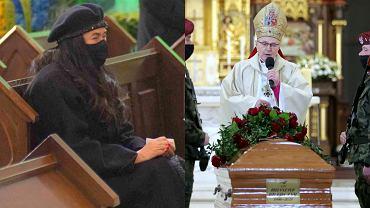 """Poruszające słowa księdza do żony Krzysztofa Krawczyka podczas pogrzebu. """"Zdała egzamin z miłości do męża"""""""