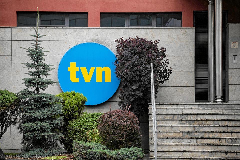 Siedziba TVN w Warszawie.