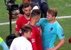 """Cristiano Ronaldo zaczął namawiać rywala na transfer do Juventusu! """"Byłem mocno zaskoczony"""""""