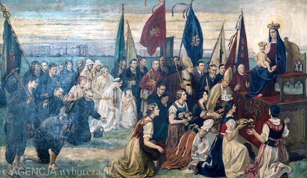 Hołd Górnego Śląska-  obraz Józefa Unierzyskiego