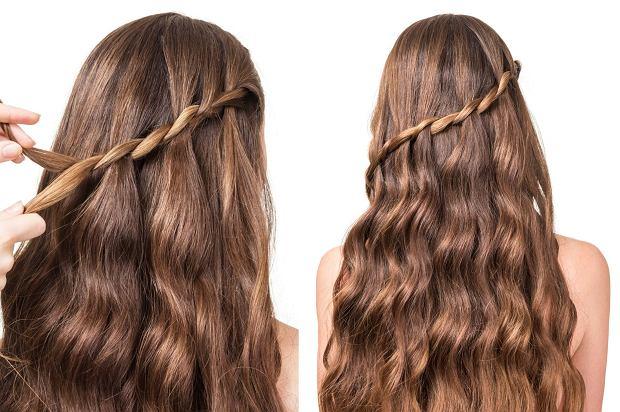 fryzury z warkoczem