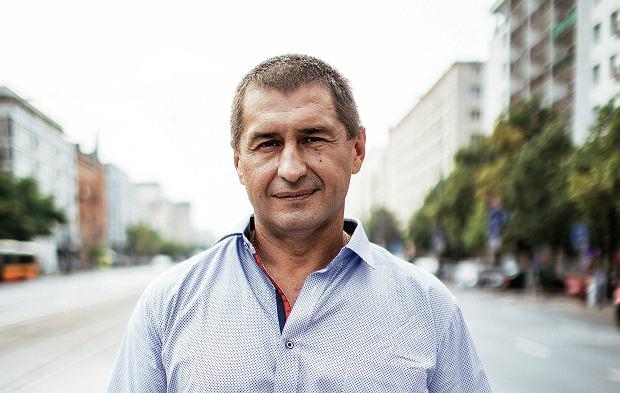 Kierowca z Ukrainy Andrij Sirowacki ratował ludzi z karambolu