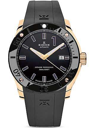 Zegarki: co nowego w 2013 roku, moda męska, zegarki, Zegarek z kolekcji Edox 80088_ 37R/ Apart