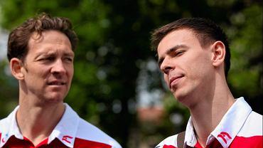 Stephane Antiga i Mariusz Wlazły