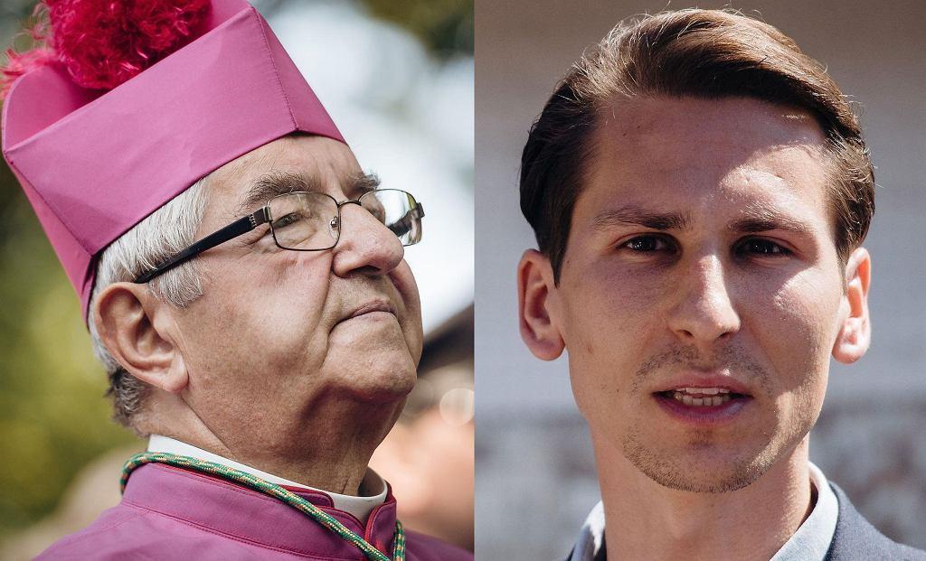 Abp Głódź i Kacper Płażyński