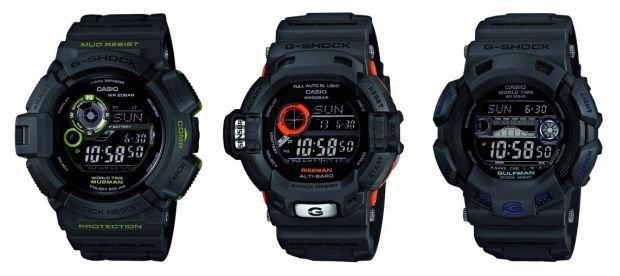 Casio prezentuje nowe zegarki G-Shock