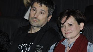 Maciej Zientarski z żoną