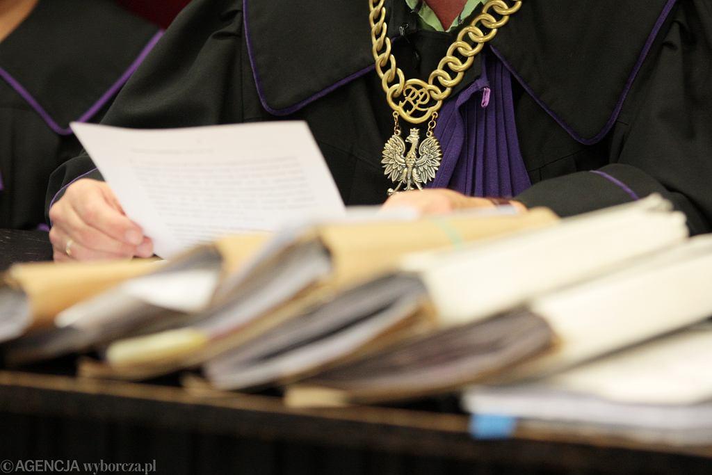 Sąd - zdjecie ilustracyjne
