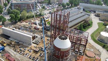 Budowa instalacji odsiarczania spalin we wrocławskiej elektrociepłowni