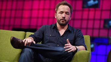 Drew Houston, twórca i CEO usługi Dropbox