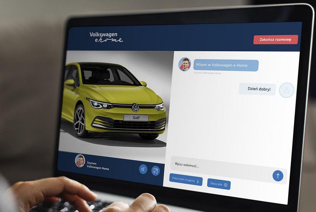 Nowa usługa Volkswagena ułatwia zakup samochodu z domu
