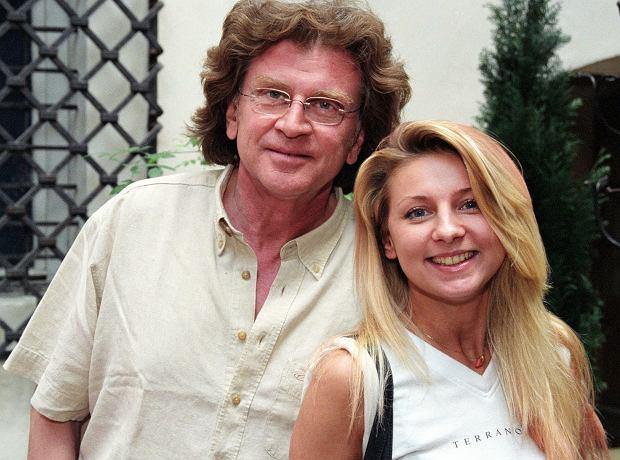 RPHOTO: TRICOLORS/EAST NEWS 08.05.2002 Droga do gwiazd N/Z:Wodecki Zbigniew z corka