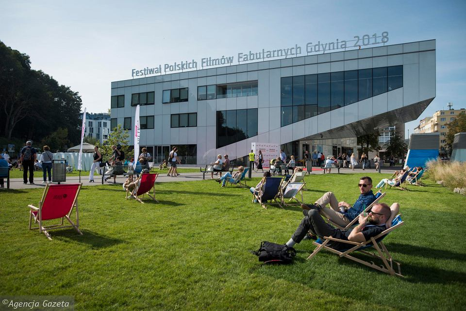Festiwal Polskich Filmów Fabularnych Gdynia 2018. Plac Grunwaldzki