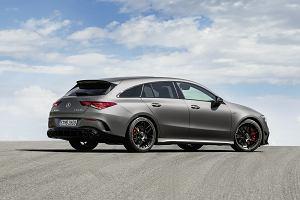 Nowy Mercedes-AMG CLA 45 Shooting Brake - stylowo, praktycznie i w 4,0 s do setki