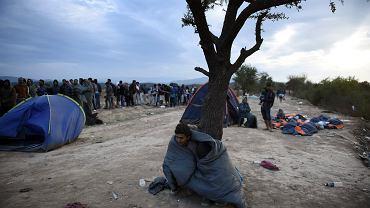 Migranci w Grecji