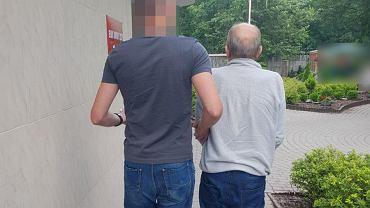 Mężczyzna podejrzany o nękanie swojej byłej partnerki w rękach policji