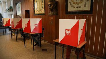 26.05.2019, Warszawa, głosowanie w wyborach do Parlamentu Europejskiego
