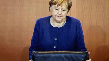 Angela Merkel podczas posiedzenia rządu. Berlin, 26 września 2018