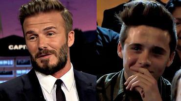 David Beckham z synem