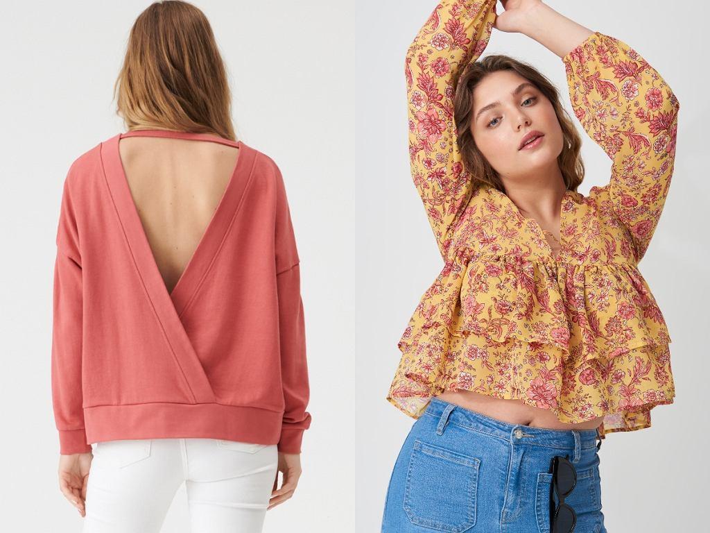 bluzki na lato Sinsay