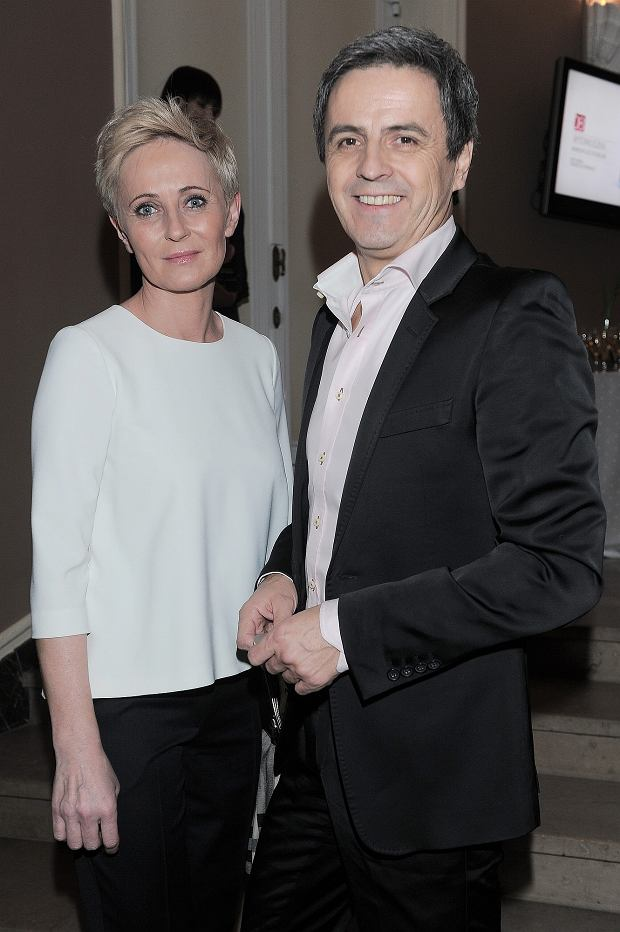 Piotr Polk, Joanna Gajewska