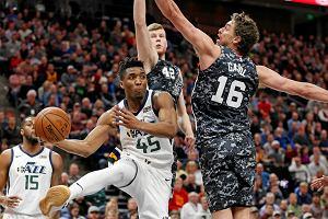 NBA. Utah Jazz wygrali 10. mecz z rzędu. Donovan Mitchell trafiał w końcówce