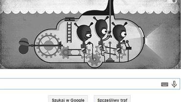 Google Doodle z potworem z Loch Ness