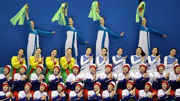 Północnokoreańskie czirliderki 1XXIII Zimowe Igrzyska Olimpijskie Pjongczang 2018