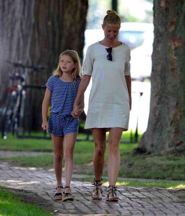 Gwyneth Paltrow z córką Apple