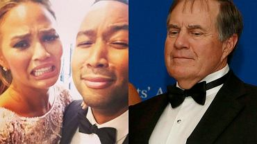 Chrissy Teigen i John Legend, Bill Belichick