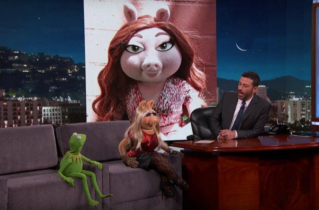Żaba Kermit, Miss Piggy i Jimmy Kimmel