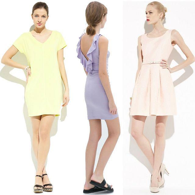 Pastelowe sukienki na wiosnę