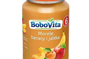 BoboVita Morele, banany i jabłka po 6. miesiącu