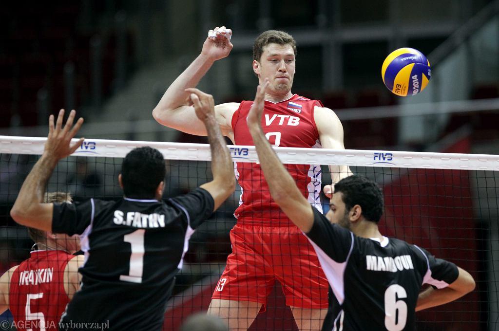 Mistrzostwa świata w siatkówce. Rosja - Egipt 3:0