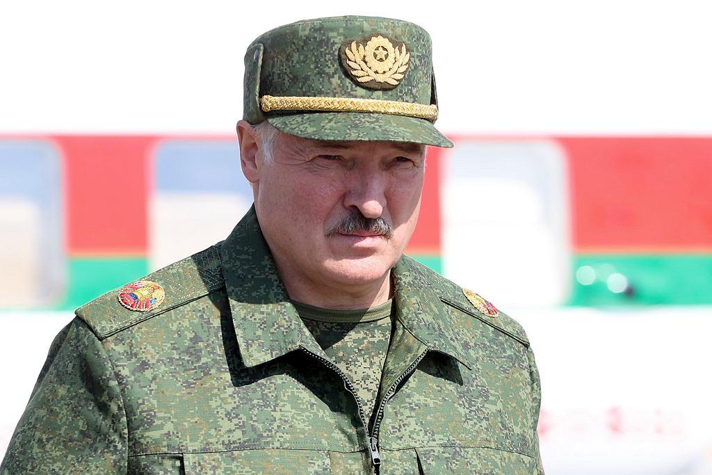 Alaksandr Łukaszenka w Grodnie