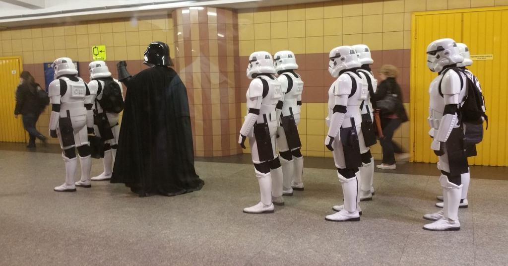 Star Wars w Metrze