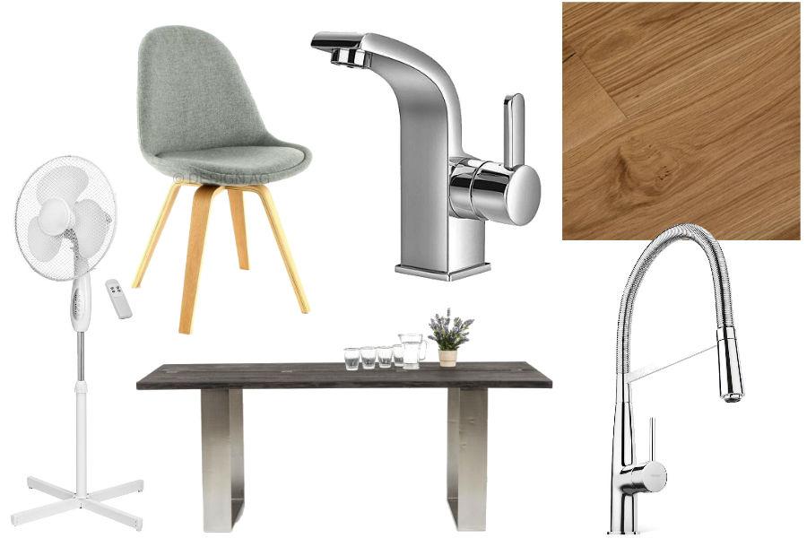 kuchnia, dodatki, wnętrza, mieszkanie, aranżacja mieszkania