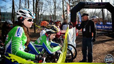 Zimowy maraton rowerowy MTB w Pomiechówku