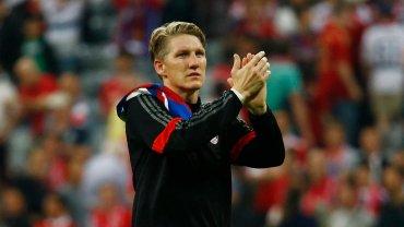 Bayern Monachium 3:2 Barcelona. Bastian Schweinsteiger
