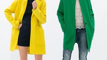 Kolorowe płaszcze na wiosnę
