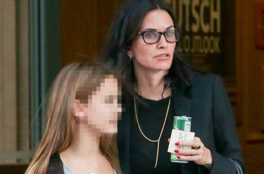 Courtney Cox z córką