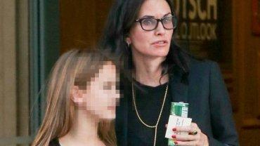 Courtney Cox z córką