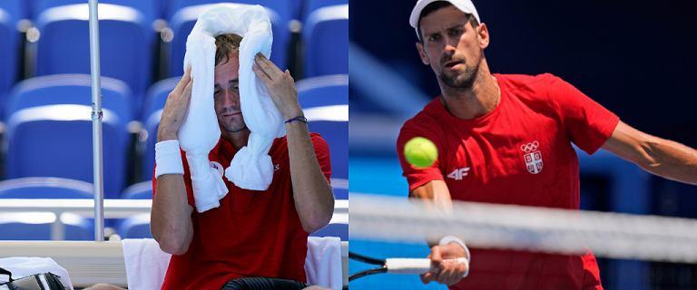 """Djoković i Miedwiediew mają pretensje do organizatorów igrzysk. """"Nie rozumiem tego. To jest żart"""""""