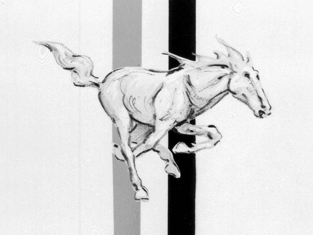 Logo Mustanga