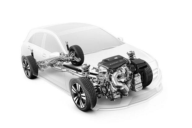 Mercedes A45 AMG - Mocny początek