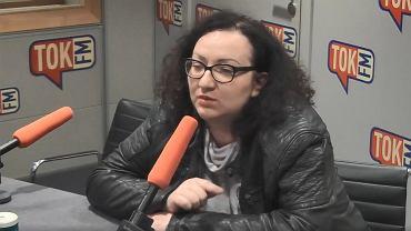 Marta Lempart w TOK FM