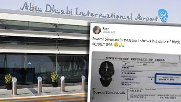 123-letni pasażer wywołał poruszenie na lotnisku