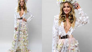 Magdalena Swat w stroju narodowym na Miss Universe 2018 projektu Klaudii Markiewicz