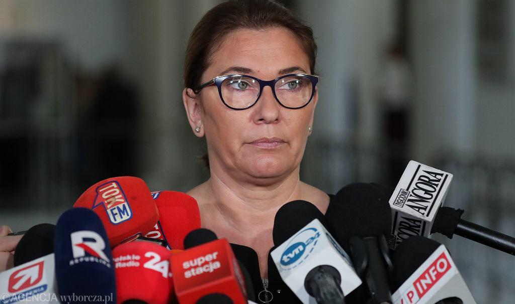 Rzeczniczka PiS i wicemarszałek Sejmu Beata Mazurek